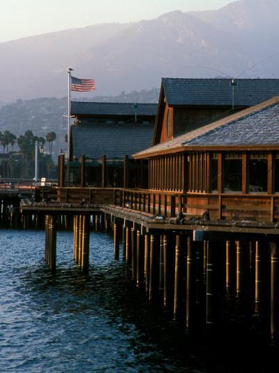 Waterfront Restaurant, Stern's Wharf, Santa Barbara, California-Savanah Stewart-Photographic Print