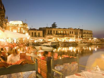 Waterfront, Rethymnon, Crete, Greece, Europe-Angelo Cavalli-Photographic Print