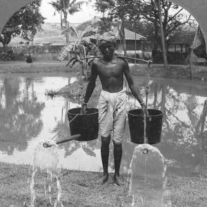 Watering Cans Used for Street Sprinkling, Burma, 1908