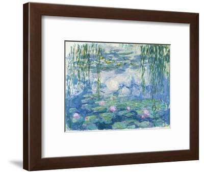 Waterlilies, 1916-19-Claude Monet-Framed Premium Giclee Print