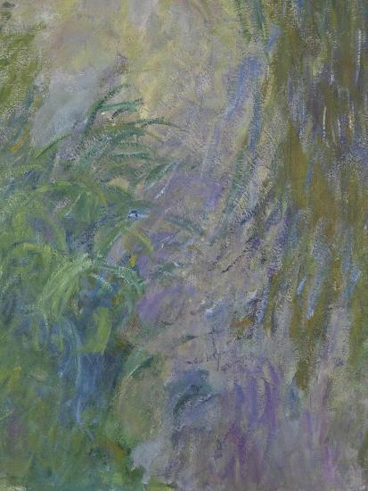 Waterlilies (Detail)-Claude Monet-Giclee Print