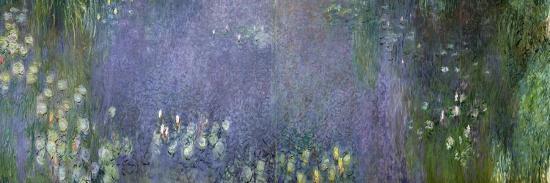 Waterlilies: Morning, 1914-18-Claude Monet-Giclee Print