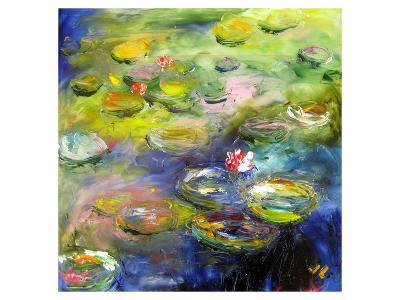 Waterlilies V--Art Print