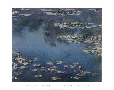 Waterlilies-Claude Monet-Art Print