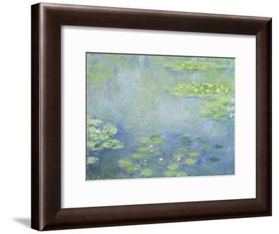 Waterlilies-Claude Monet-Framed Giclee Print