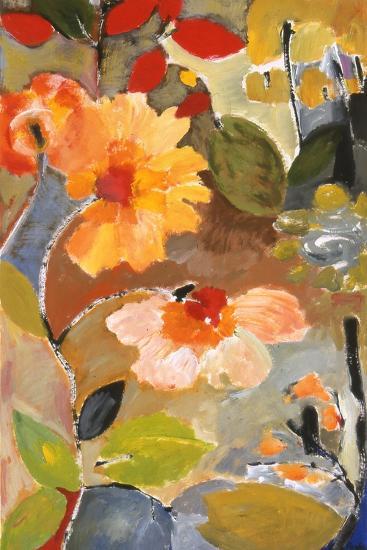 Waterlillies-Kim Parker-Giclee Print