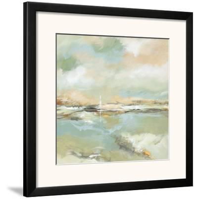Waterline I-Michael King-Framed Art Print