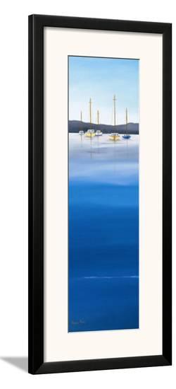 Waterline I-Hans Paus-Framed Art Print