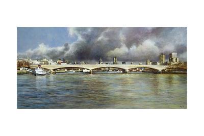 Waterloo Bridge, 1994-Isabel Hutchison-Giclee Print