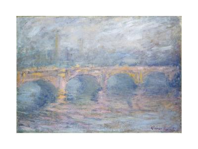 Waterloo Bridge, London, at Sunset, 1904-Claude Monet-Giclee Print