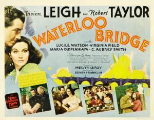Waterloo Bridge, Robert Taylor, Vivien Leigh, 1940