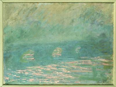 Waterloo Bridge-Claude Monet-Giclee Print