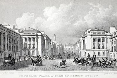 Waterloo Place-Thomas Hosmer Shepherd-Giclee Print