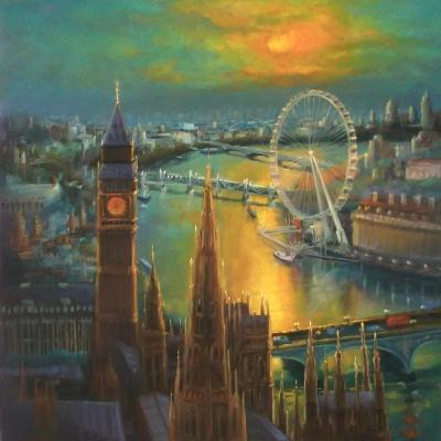 Waterloo Sunrise, 2015-Lee Campbell-Giclee Print