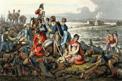 Waterloo, the Day After, Engraved by Matthew Dubourg (Fl.1813-20), Published by Edward Ormes…-John Heaviside Clark-Giclee Print