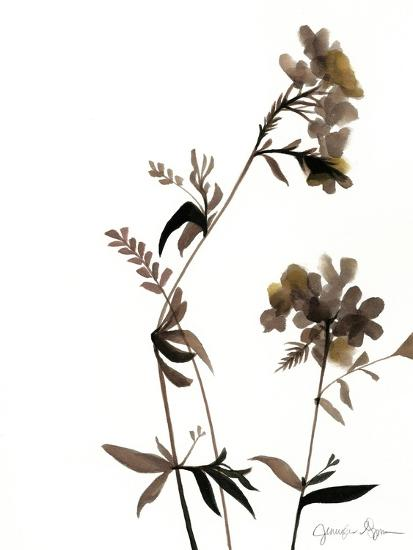 Watermark Wildflowers II-Jennifer Goldberger-Art Print