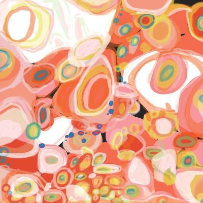 Watermelon Cocktail-Jan Weiss-Art Print