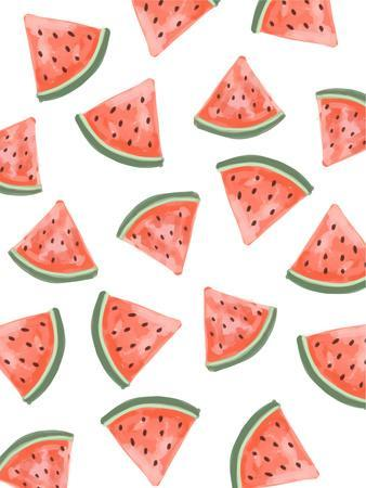 graphic about Watermelon Printable known as Watermelon Habit Giclee Print as a result of Jetty Printables
