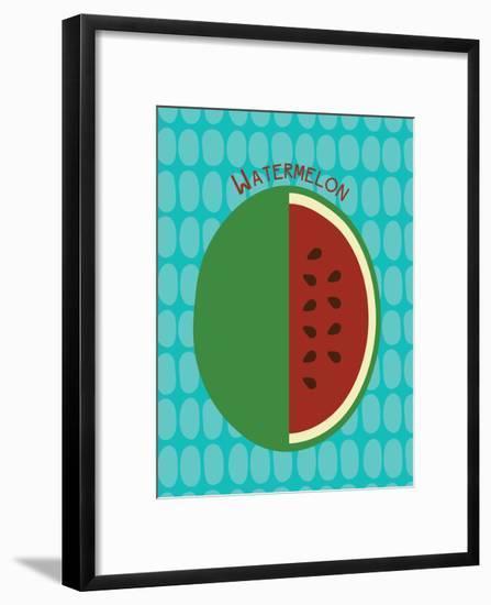Watermelon Print--Framed Art Print