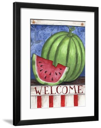Watermelon Welcome-Melinda Hipsher-Framed Giclee Print