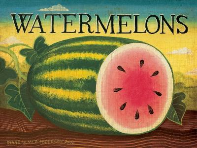 Watermelons-Diane Pedersen-Art Print