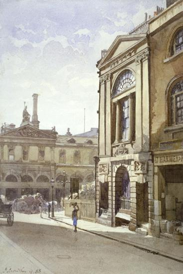 Watermen's and Lightermen's Hall, St Mary at Hill, City of London, 1888-John Crowther-Giclee Print