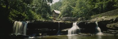 Watermill in a Forest, Babcock State Park, West Virginia, USA--Photographic Print