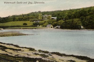 Watermouth Castle and Bay, Ilfracombe--Photographic Print