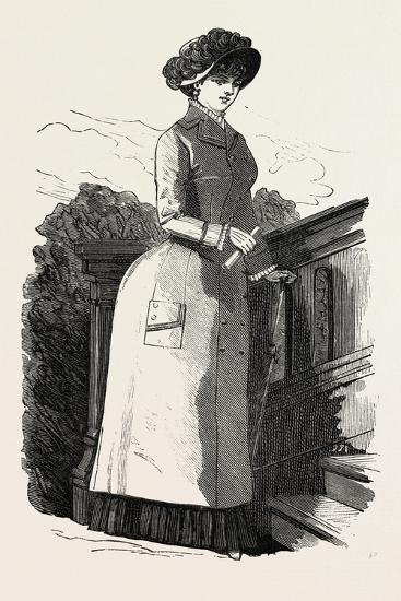 Waterproof Coat, Fashion, 1882--Giclee Print