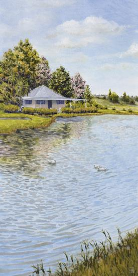 Waters Edge-Hilary Armstrong-Giclee Print