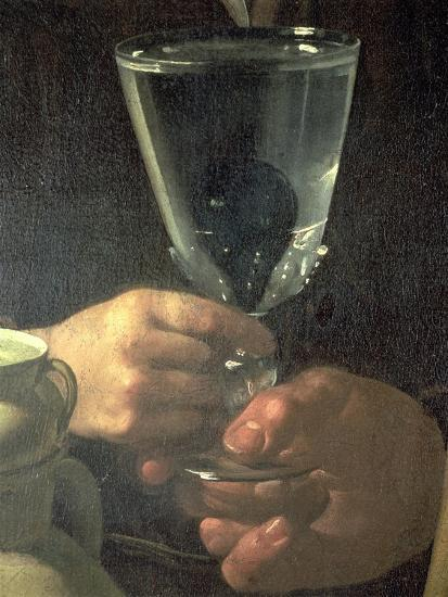 Waterseller of Seville (Detail)-Diego Velazquez-Giclee Print