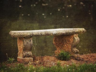 Waterside Bench-Jai Johnson-Giclee Print
