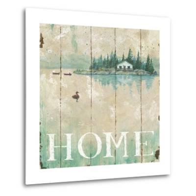 Waterside Lodge I-Daphne Brissonnet-Metal Print