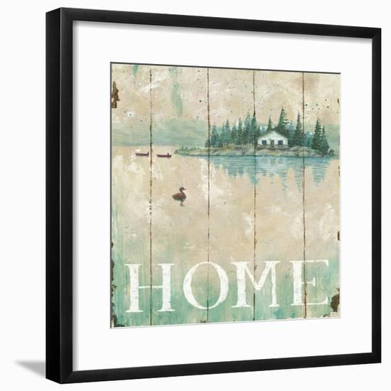 Waterside Lodge I-Daphne Brissonnet-Framed Art Print