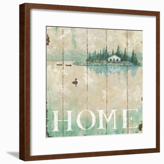 Waterside Lodge I-Daphne Brissonnet-Framed Art Print