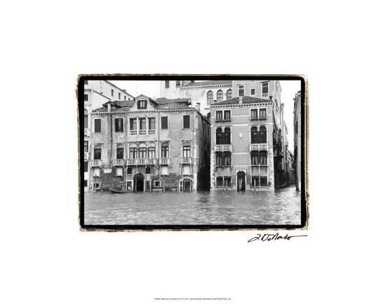 Waterways of Venice XVI-Laura Denardo-Premium Giclee Print