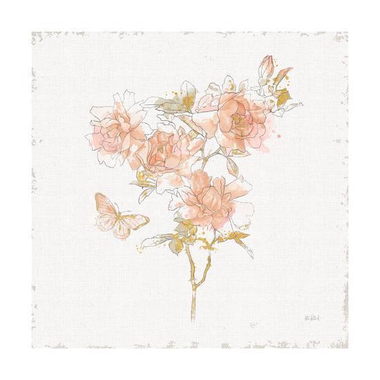 Watery Blooms VII-Katie Pertiet-Art Print