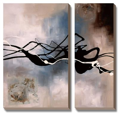 Watery Hollow I-Laurie Maitland-Canvas Art Set