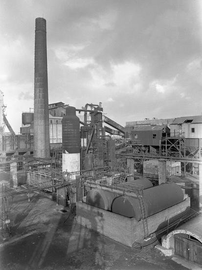 Wath Main Colliery, Wath Upon Dearne, Near Rotherham, South Yorkshire, 1956-Michael Walters-Photographic Print