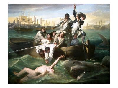 Watson and the Shark-John Singleton Copley-Giclee Print