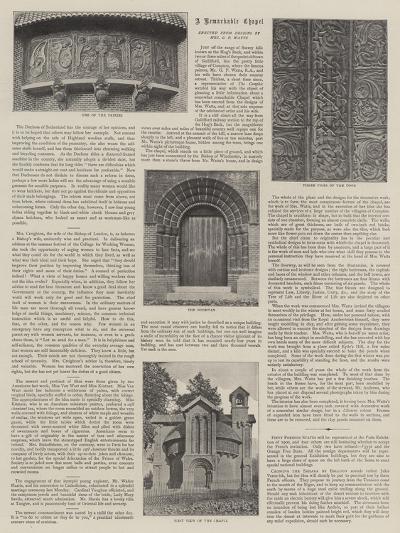Watts Mortuary Chapel--Giclee Print