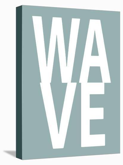 Wave Aqua-Jamie MacDowell-Stretched Canvas Print