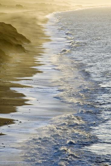 Wave Breaking-Adrian Bicker-Photographic Print