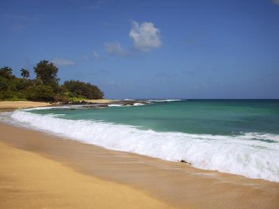 Wave Breaks, Kauai, Hawaii, USA-Dennis Flaherty-Photographic Print