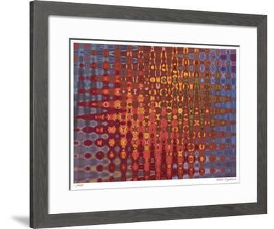 Wave Landscape V-John Watson-Framed Giclee Print