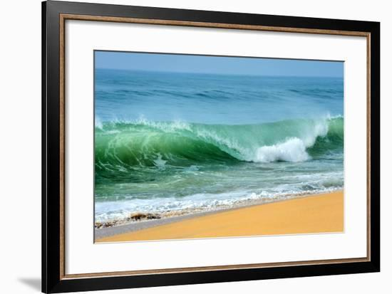 Wave of the Ocean-byrdyak-Framed Premium Photographic Print
