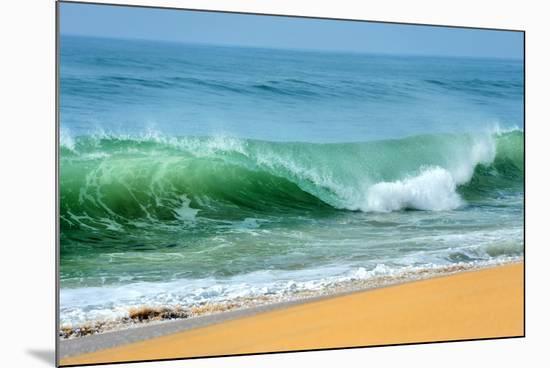 Wave of the Ocean-byrdyak-Mounted Premium Photographic Print