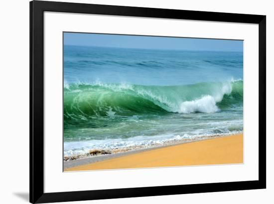Wave of the Ocean-byrdyak-Framed Photographic Print