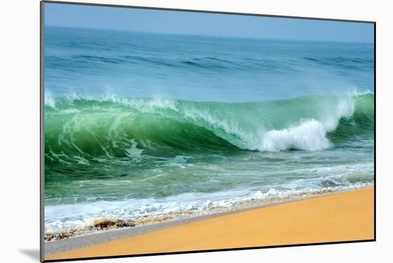 Wave of the Ocean-byrdyak-Mounted Photographic Print