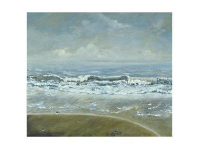 Wave on Barton Beach, 2005-Margaret Hartnett-Giclee Print